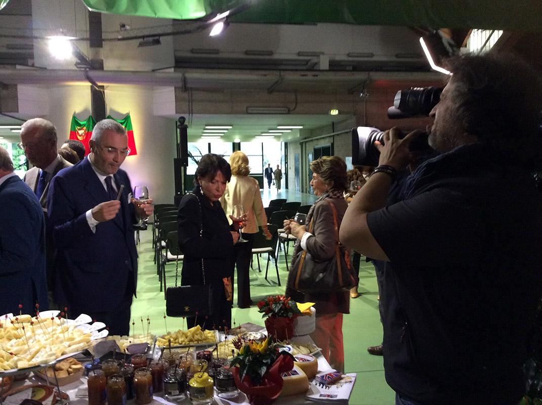 Portugal Foods Ações Presença institucional na Ação Promocional em Milão