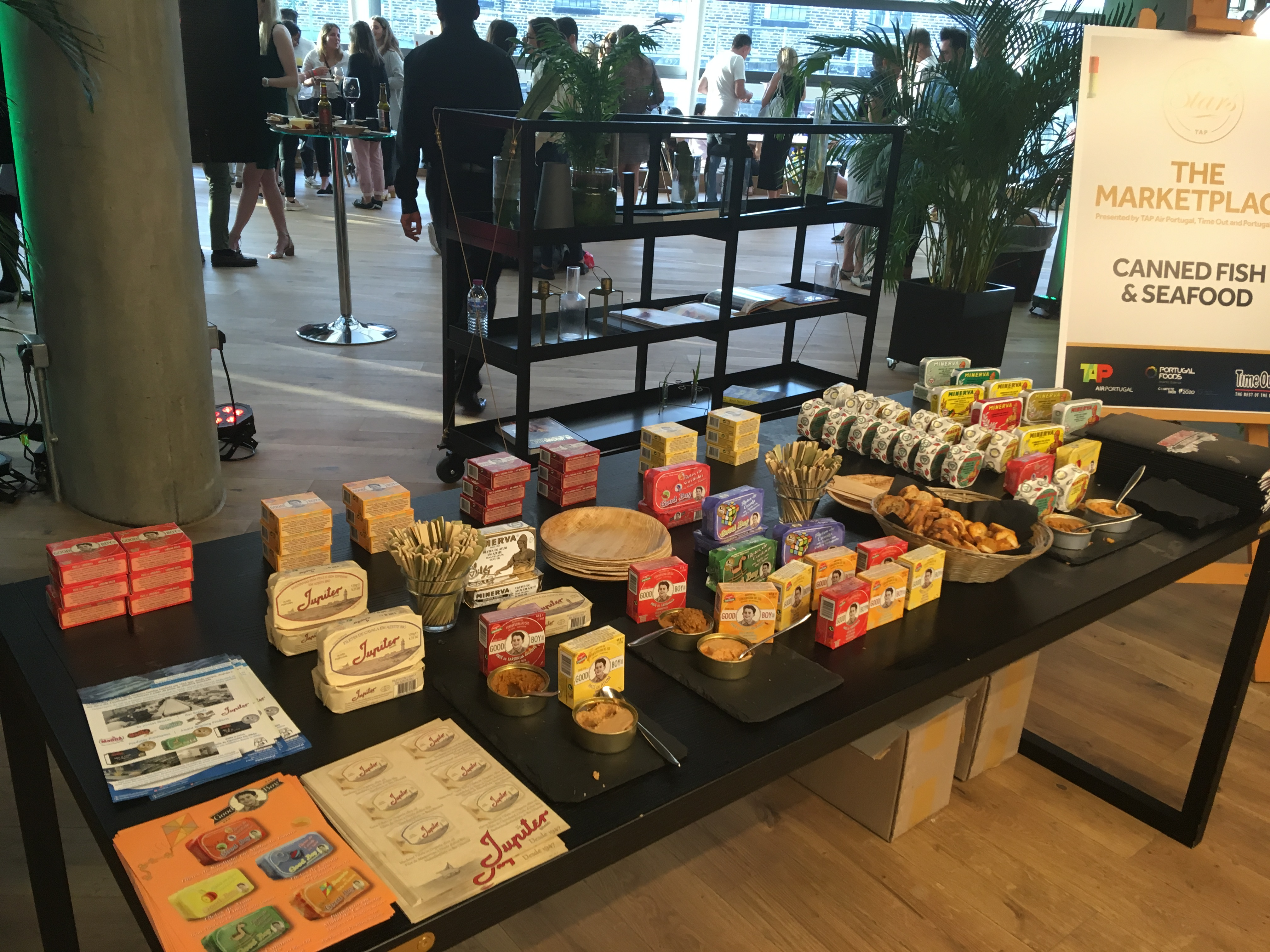 Portugal Foods Ações Ação Promocional em Londres